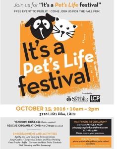 it's a pets life festival photo