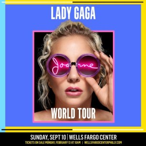 Lady Gaga concert tickets