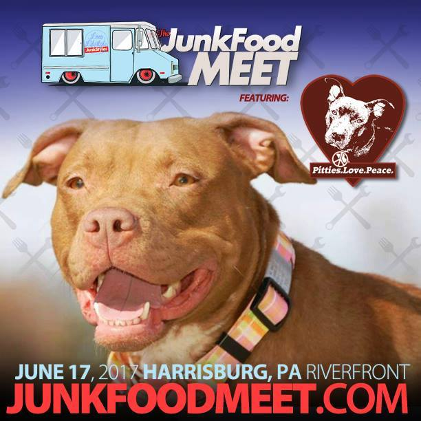 The JunkFood Meet Car Show Food Truck Festival Pitties Love - Car show harrisburg pa