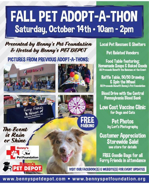 Fall Pet Adopt-A-Thon